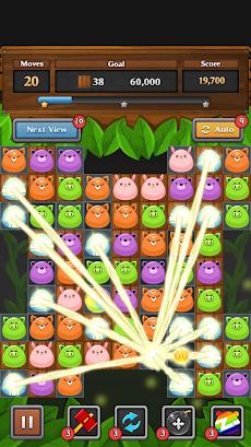 ジャングル マッチ パズルのおすすめ画像2