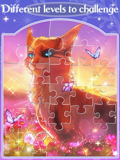 Happy jigsaw puzzles - calm & relax Apkfinish screenshots 7