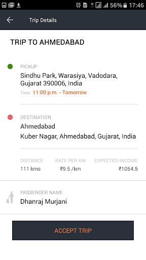 Goibibo Driver App for cabs  screenshots 2