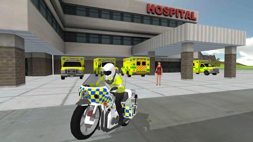 Police Car Driving - Motorbike Riding 1.32 screenshots 7