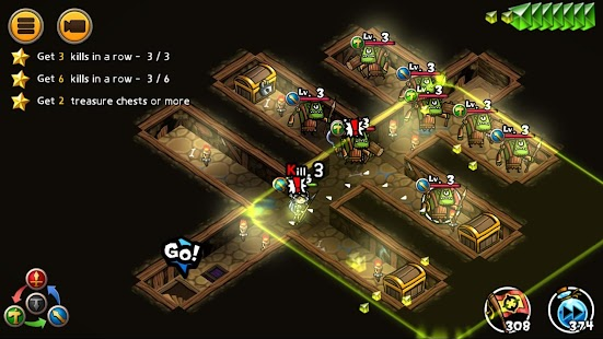 WhamBam Warriors - Puzzle RPG Screenshot