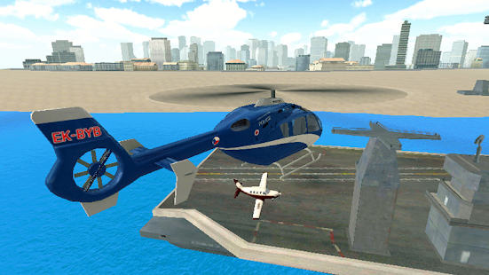 Police Helicopter Simulator Screenshot
