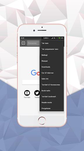 Private Browser & Web Explorer apktram screenshots 5