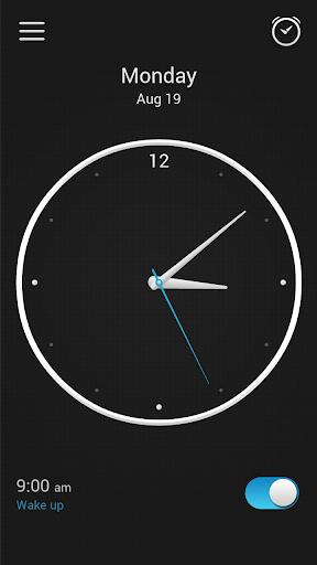 Alarm Clock screen 1