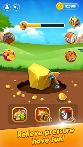Mining Gold Rush - Casual Gold Miner 1.0.8 screenshots 2