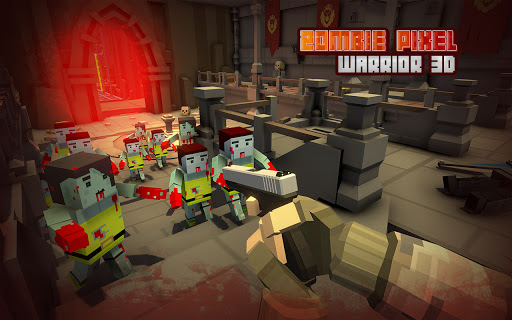 Zombie Pixel Warrior 3D- The Last Survivor 1.4 screenshots 8