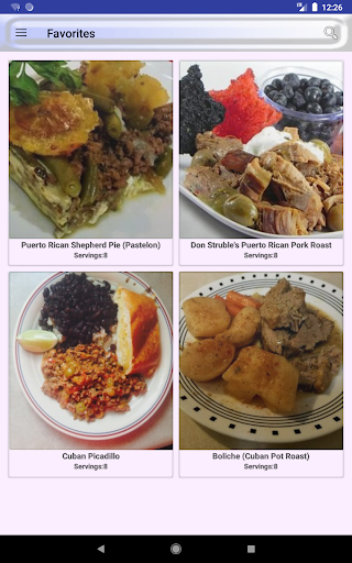 ufeffAmerica and Caribbean Food Recipes 2.0 screenshots 16
