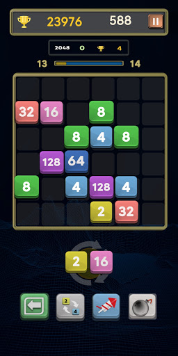 Merge Number Puzzle: Merge! Block Puzzle Game apk 0.4 screenshots 4