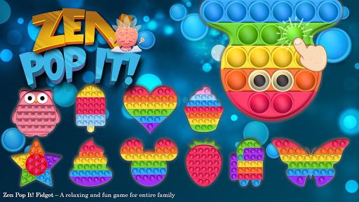 Pop It Sensory Zappeln Würfel Spielzeug 3d 1.2.2 screenshots 1