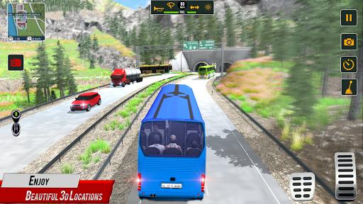 Super Coach Driving 2021 : Bus Free Games 2021 screenshots 21