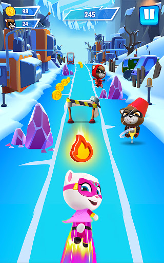 Talking Tom Hero Dash - Run Game 2.4.1.1397 Screenshots 20
