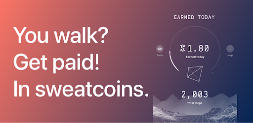 Sweatcoin — Walking step counter & tracker .APK Preview 0