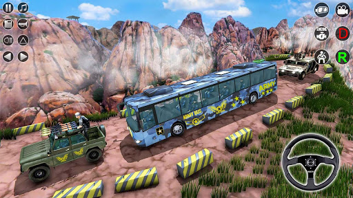 Army Bus Transporter Simulator 2020  screenshots 12