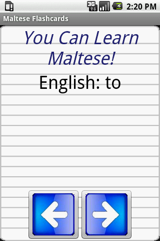 English to Maltese Flashcards For PC Windows (7, 8, 10, 10X) & Mac Computer Image Number- 5