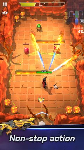 Spacelanders: Hero Survival - arcade shooter Apkfinish screenshots 2
