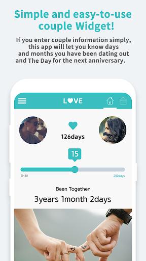 Couple Widget - Love Events Countdown Widget 1.00.45 Screenshots 3