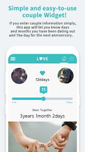 Couple Widget – Love Events Countdown Widget 3