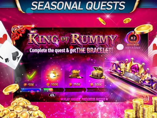 Gin Rummy Stars - Play Free Online Rummy Card Game Apkfinish screenshots 13