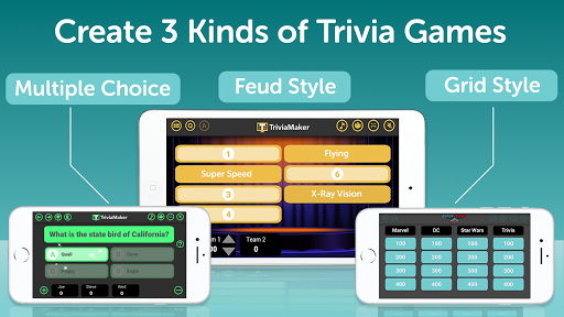 TriviaMaker - Quiz Creator, Game Show Trivia Maker apkmartins screenshots 1