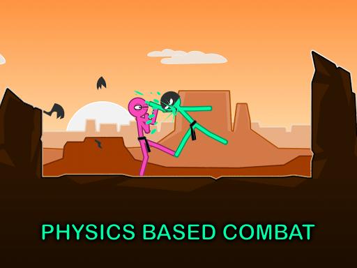 Slapstick Fighter - Stickman Ragdoll Fighting Game Apkfinish screenshots 6