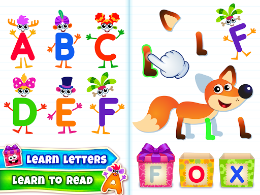 Baby ABC in box! Kids alphabet games for toddlers! 3.3.3.2 screenshots 17