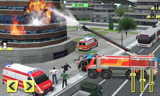 Real Firefighter Training 2020 – Fire Truck Rescue 4