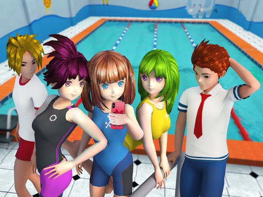 Pretty Girl Yandere Life: High School Anime Games 1.9 screenshots 6