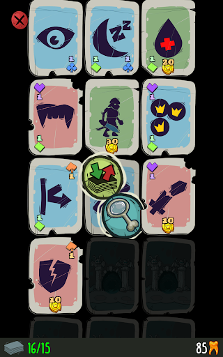 Dungeon Faster - Card Strategy Game 1.127 screenshots 8