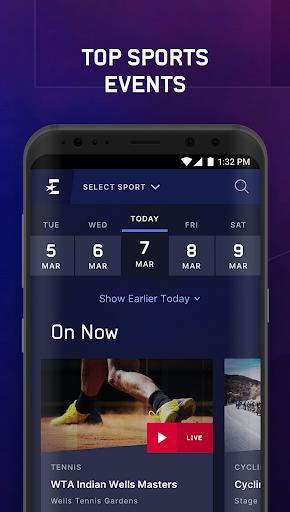 Eurosport Player - Live Sport Streaming App modavailable screenshots 3