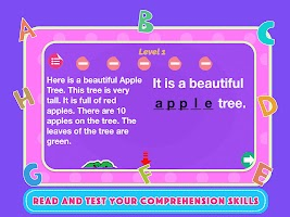 English Reading Comprehension - Learn To Read Apps