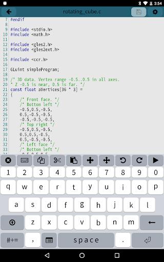 Mobile C [ C/C++ Compiler ] 2.5.2 Screenshots 7