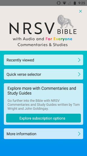 NRSV: Audio Bible for Everyone  screenshots 7