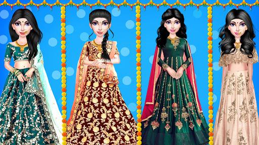 Indian Wedding Girl - Makeup Dressup Girls Game 1.0.3 screenshots 7