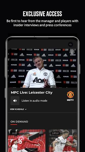 MUTV u2013 Manchester United TV 2.9.3 Screenshots 2
