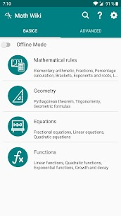 Math Wiki – Learn Math Premium v3.2.6 MOD APK 1
