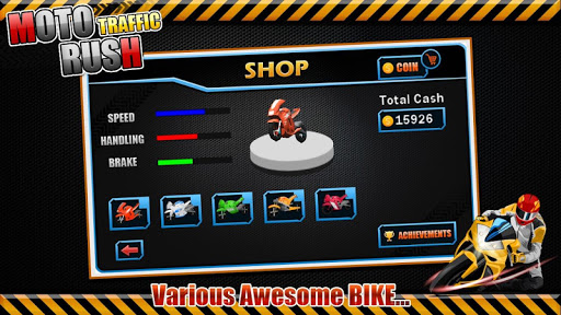 Moto Traffic Rush3D modavailable screenshots 4