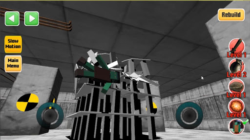 Destroy it all! Physics destruction, Fun Ragdolls 43 screenshots 4