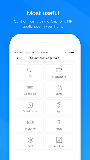 BroadLink -Universal TV Remote screenshots 1