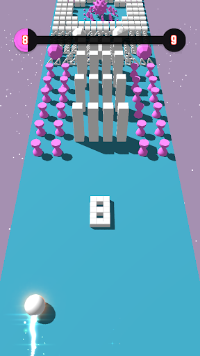 Code Triche Color Bumb Cross ball crush  game bump up the jump (Astuce) APK MOD screenshots 6
