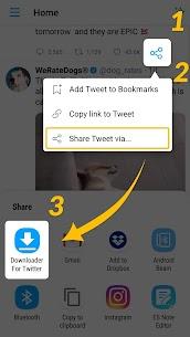 Download Twitter Videos – GIF | Tweet Downloader Apk Download NEW 2021 1