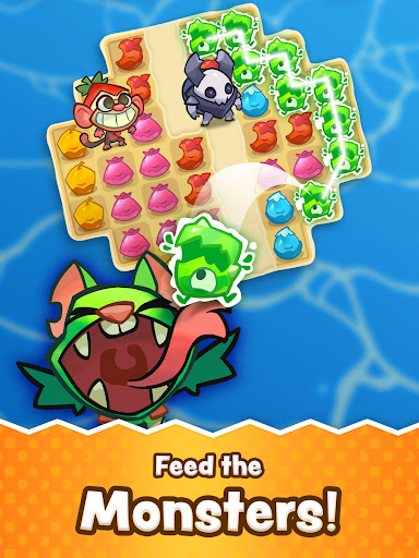 Matchfruit Monsters - Match Puzzle Adventure! screenshots 6