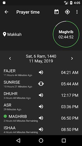 Hijri Calendar: Prayer Times, Event, Reminder  Screenshots 3