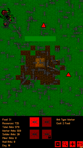 Ant Evolution - idle ant colony simulator 1.3.8 screenshots 6