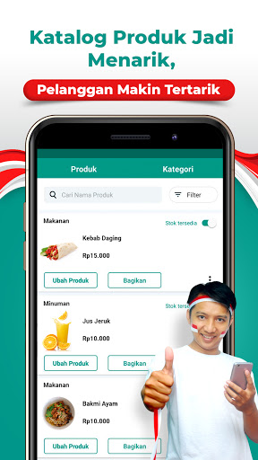 Tokoko Seller | Buat Toko Online Shop Gratis apktram screenshots 2